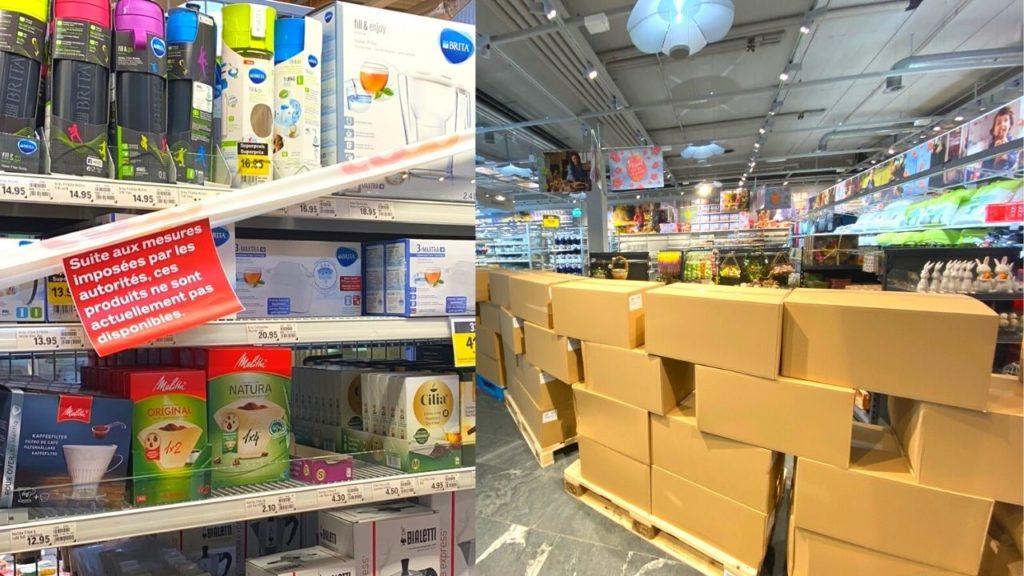 COVID-19 : Qu'est-ce qui ne peut pas être acheté actuellement ?