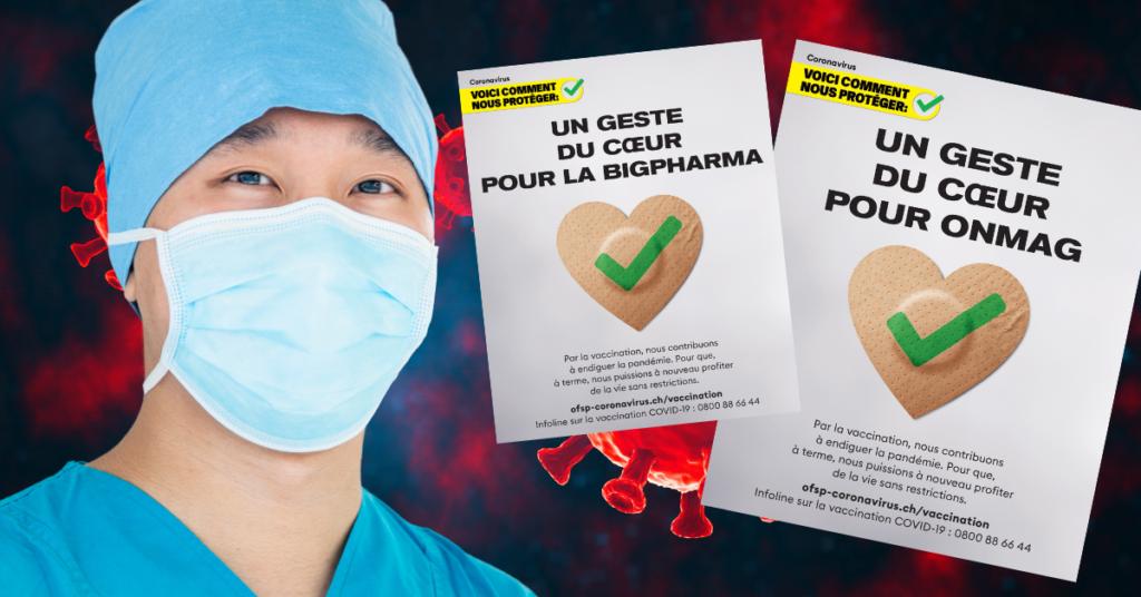 Vous pouvez maintenant créer vos affiches de vaccination sur le site de l'OFSP